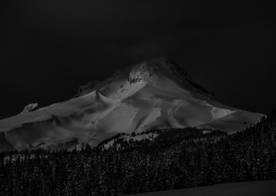 Mt Hood Moonlight