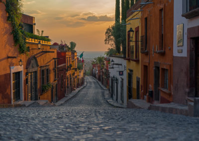 San Miguel de Allende Sun Set