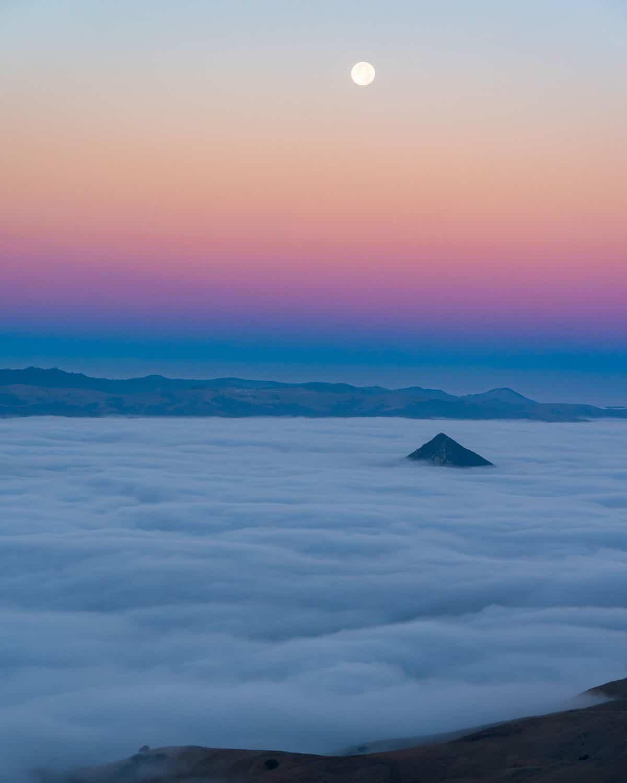 Setting Sunrise, San Luis Obisbo