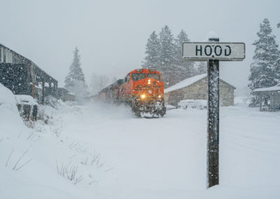 The BNSF Polar Express