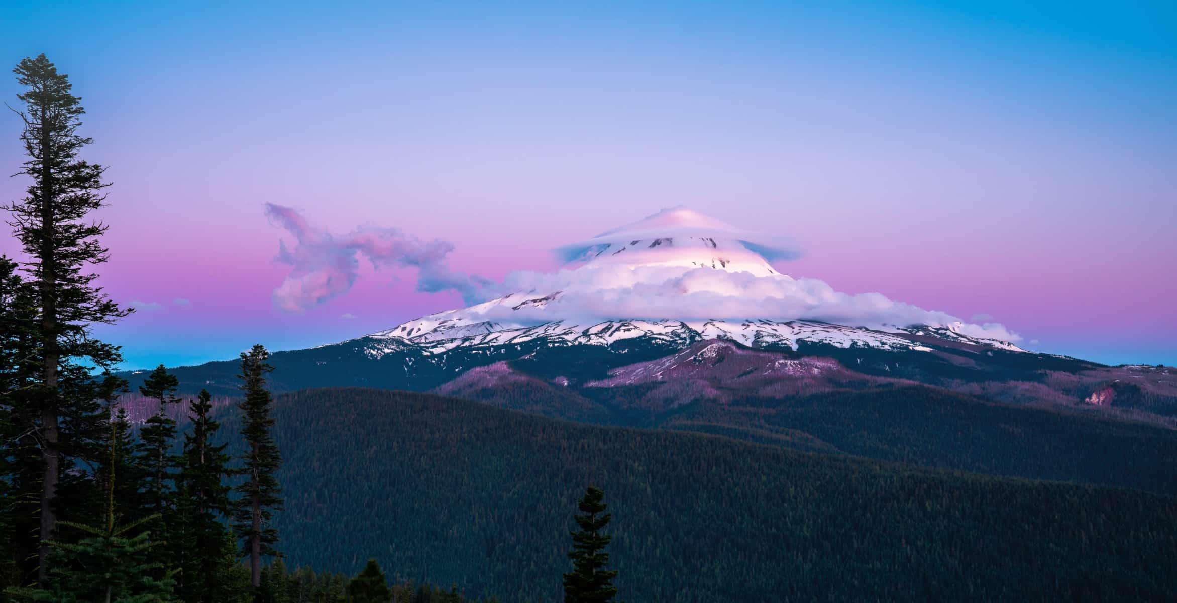 Mt. Hood with a Hood