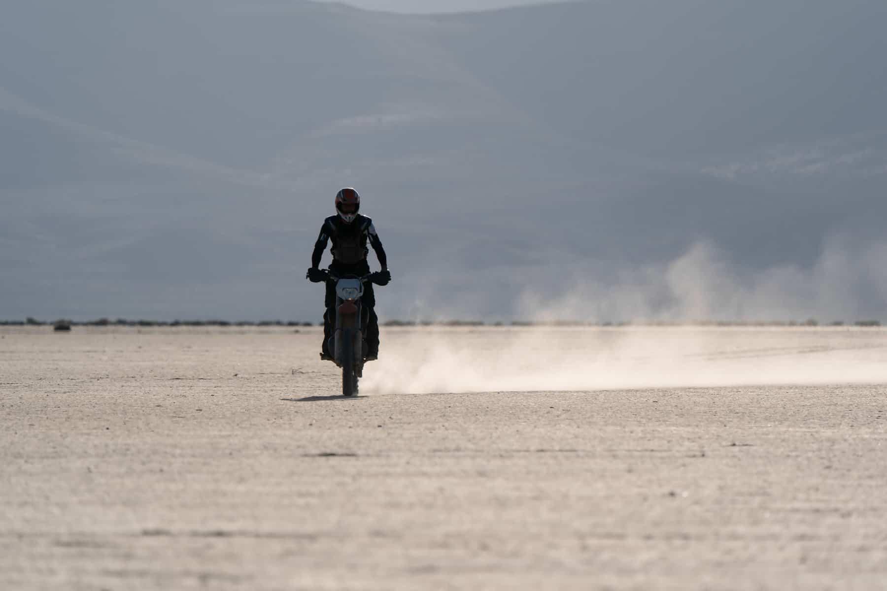 Race across the desert